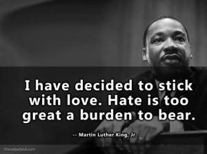 MLK Choose Love