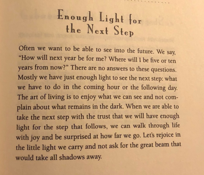 Nouwen Next Step Meditation